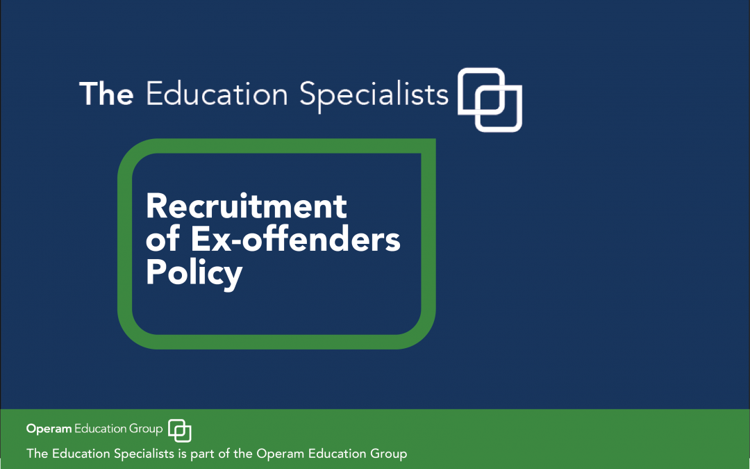Recruitment of Ex-Offenders Policy
