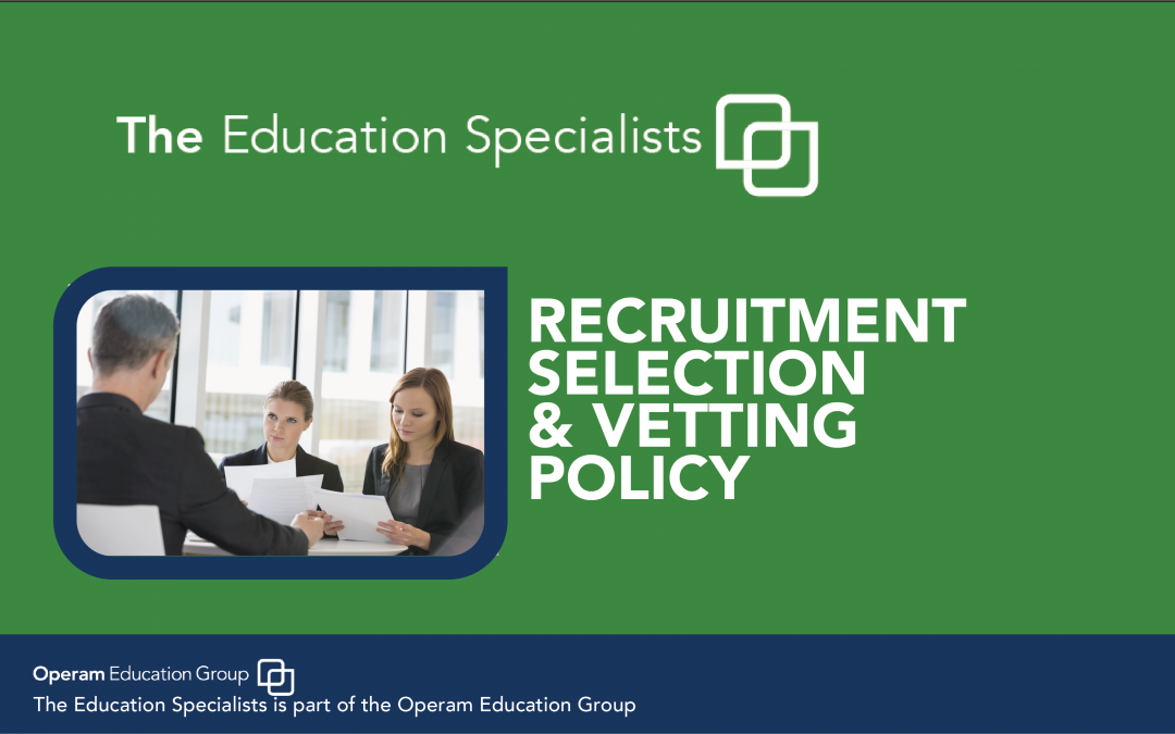 Recruitment, Selection & Verification Process