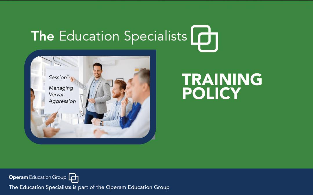 Training Policy